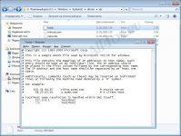 Восстановление файла hosts windows 7