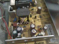 Сколько стоит замена конденсаторов на мониторе