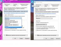 Настройки совместимости следует отключить в windows 10
