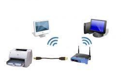 Как подключить принтер через wifi роутер