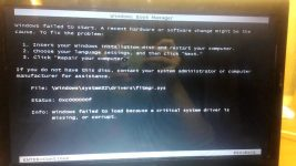 Ошибка 0xc000007f Windows 7