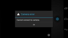 Ошибка камеры на андроиде что делать
