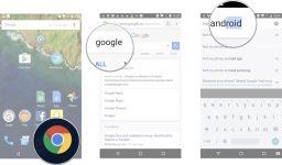 Поиск планшета через google