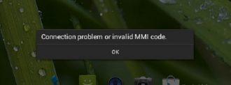 Ошибка mmi на телефоне андроид