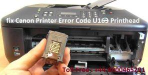 U163 canon как убрать ошибку
