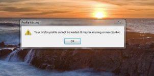 Отсутствует профиль Firefox что делать