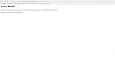 Access denied PSN что делать