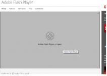Модуль Adobe flash player устарел что делать