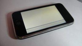 Белый экран на Iphone 3GS что делать