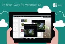 Что такое SWAY в Windows 10